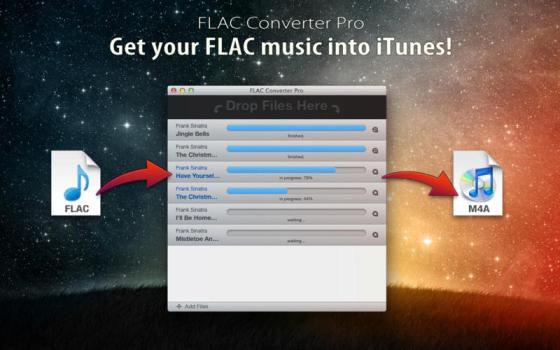 FLAC Converter Pro v1.1.2 (Mac OS X)