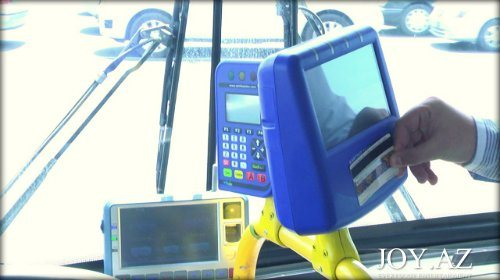 Avtobuslarda kart sisteminin tətbiqinə başlandı