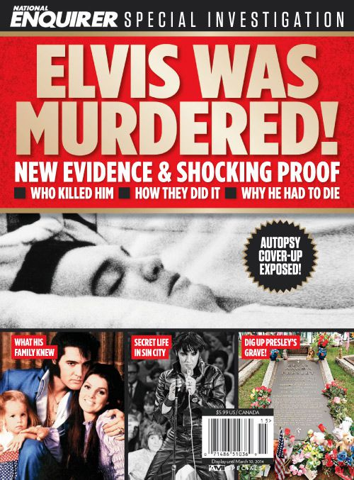 National Enquirer special - Elvis Was Murdered 2014 (True PDF)