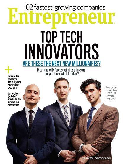 Entrepreneur Magazine February 2014