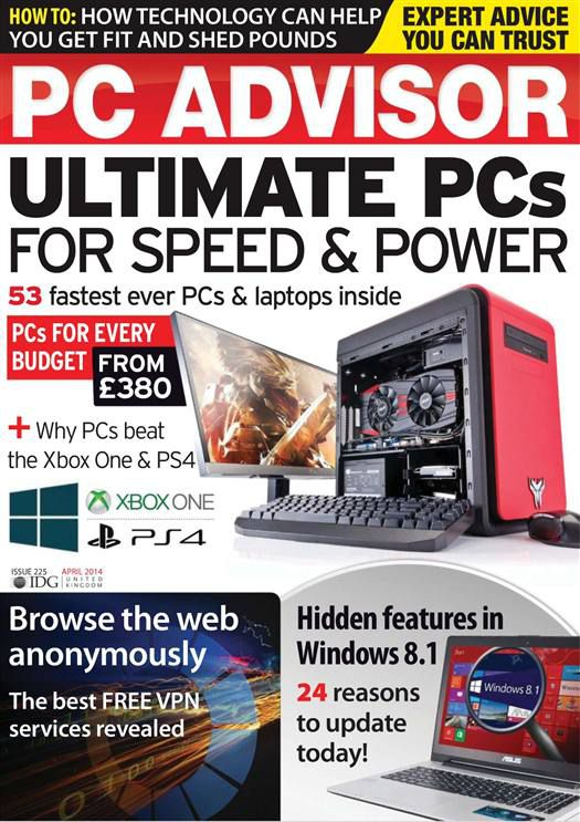 PC Advisor - April 2014