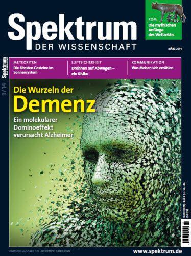 Spektrum der Wissenschaft Magazin Maerz No 03 2014