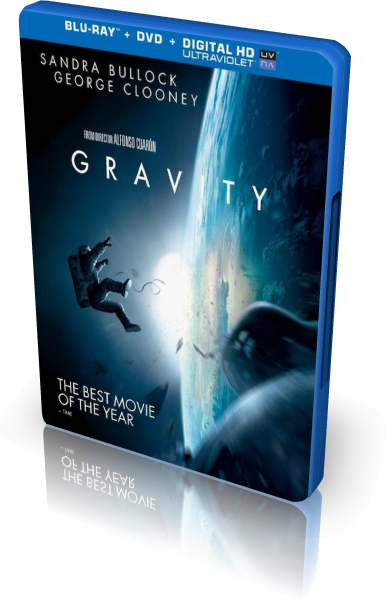 Гравитация / Gravity (2013) BDRip-AVC от New-Team | D | Лицензия