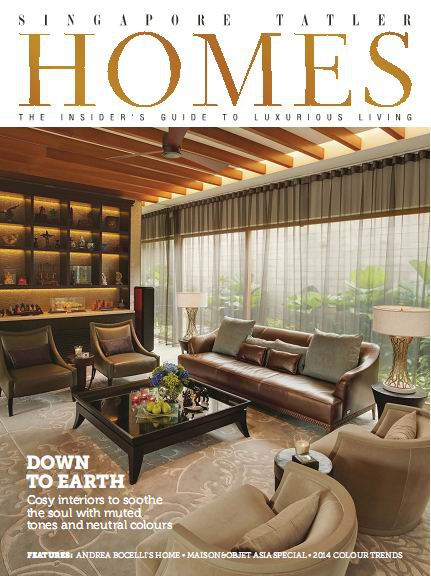 Singapore Tatler Homes Magazine February/March 2014 (True PDF)