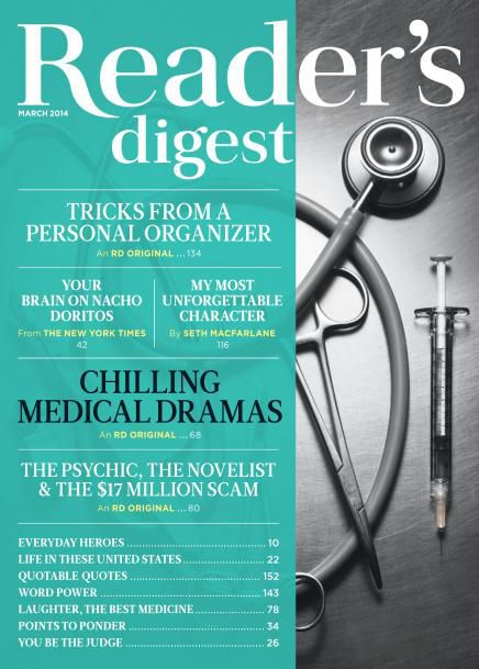 Reader's Digest USA - March 2014 (True PDF)