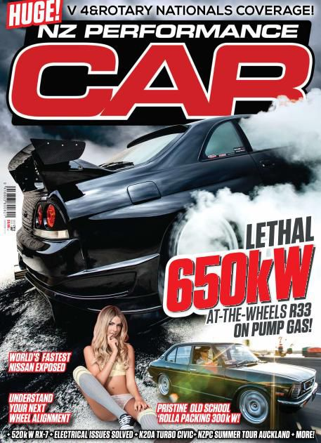 NZ Performance Car - March 2014