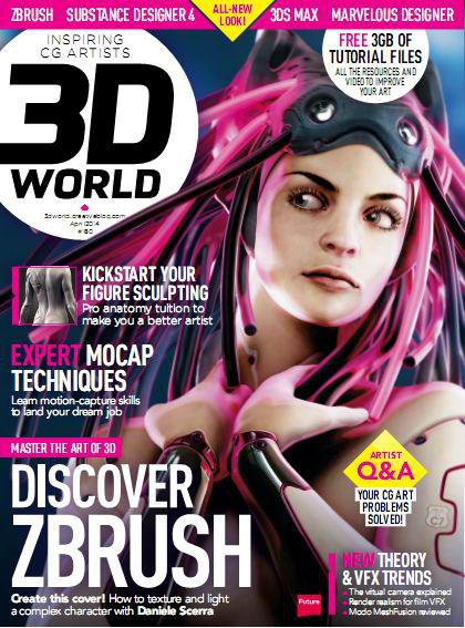 3D World Magazine - April 2014