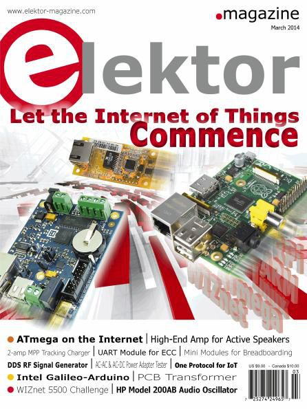 Elektor Electronics USA - March 2014
