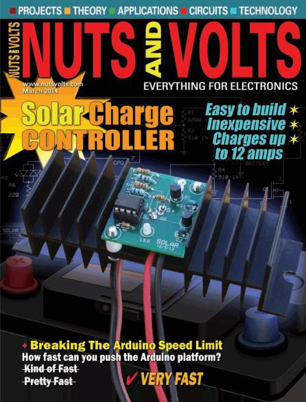 Nuts and Volts - March 2014