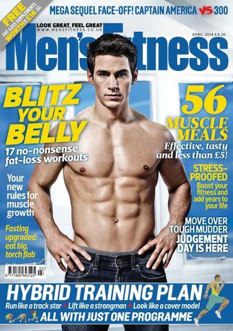 Men's Fitness - April 2014 (True PDF)