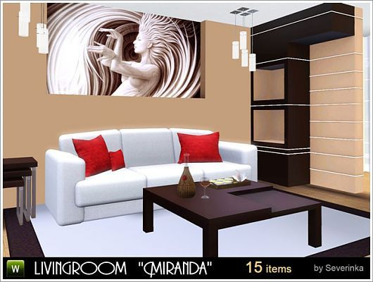 ������ ��� �������� Miranda livingroom by Severinka