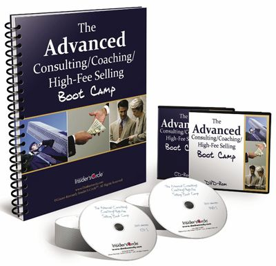 Dan Kennedy - Advanced Coaching & Consulting High Fee Selling Boot Camp (REDUCED)
