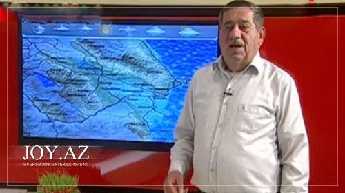 Azərbaycan telekanalından maraqlı hava proqnozu