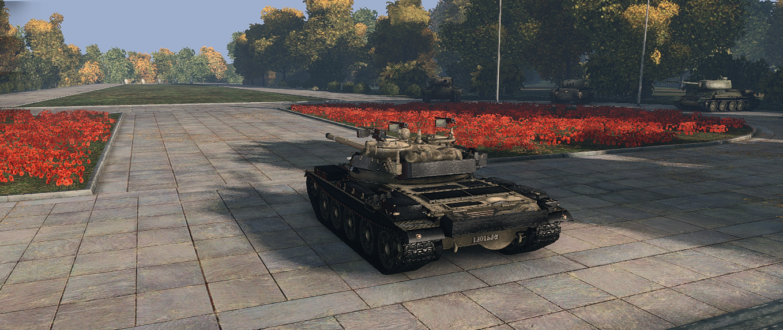 Re-modelling для Т-62А