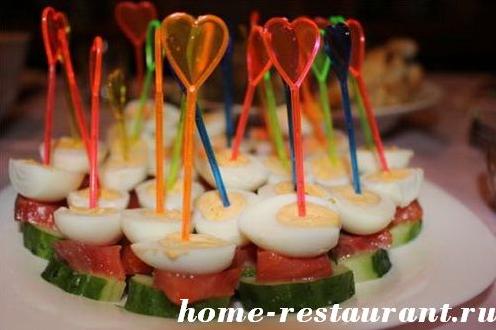 Канапе на шпажках: рецепты с фото Домашний Ресторан.