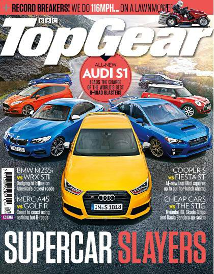 BBC Top Gear Magazine April 2014