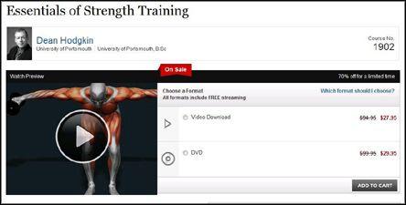 TTC Video - Essentials of Strength Training (DVDRip)