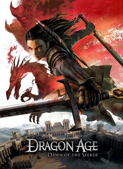 ����� �������: �������� ������������ / Dragon Age: Blood mage no seisen (2012) BDRip-AVC | iPad | P