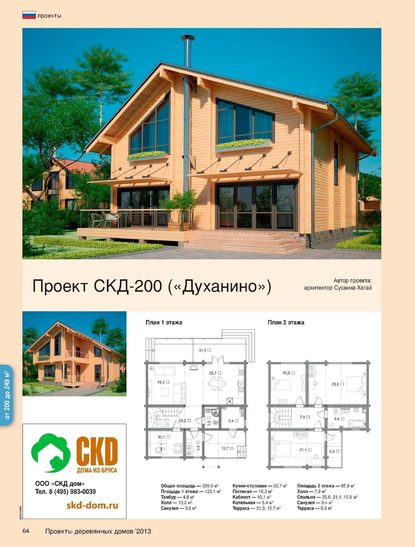 Проекты домов олхаус