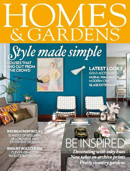 Homes & Gardens Magazine May 2014