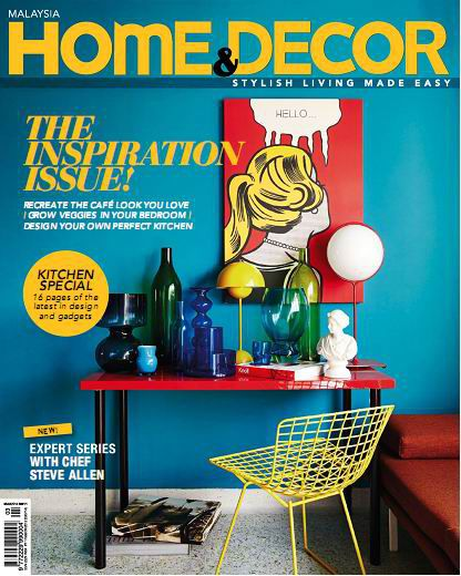 Home & Decor Malaysia Magazine March 2014