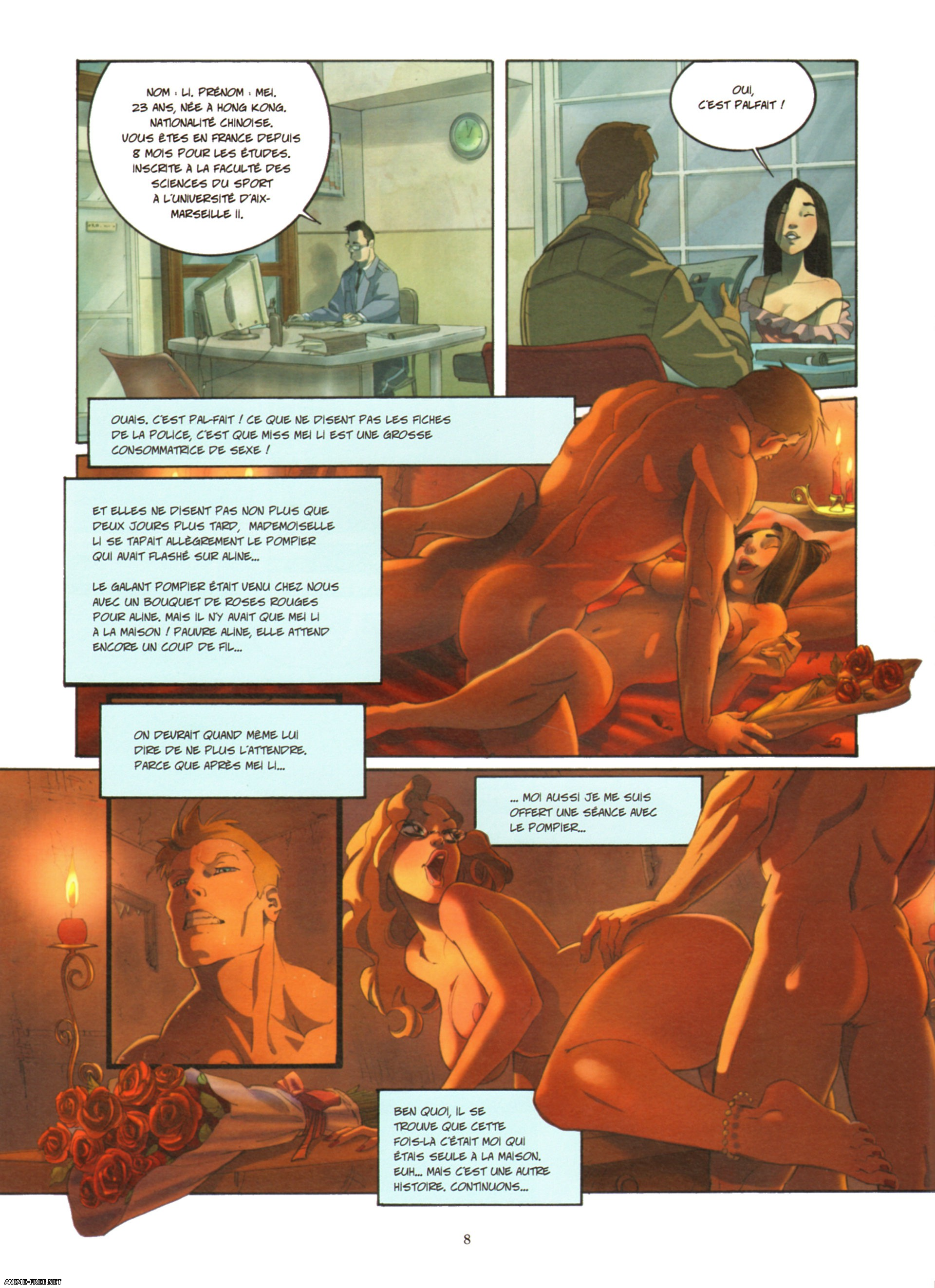 Vincenzo Cucca Hot Charlotte - Volume #01 [Uncen] [FRA] Porn Comics