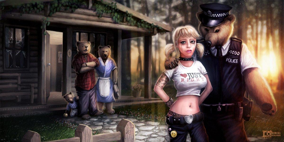 Три медведя 1