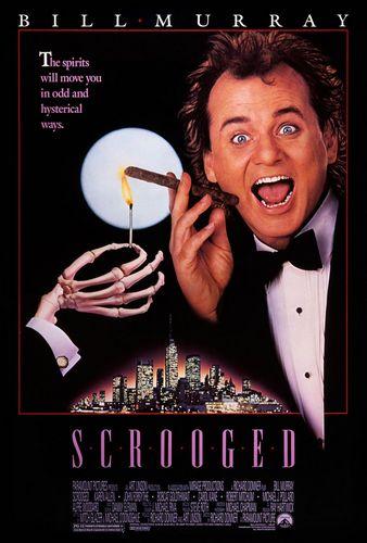 Новая рождественская сказка / Scrooged (Ричард Доннер / Richard Donner) [1988, США, комедия, DVD9 (Custom)] MVO(СТС) + AVO(Михалев)+ DVO(Lostfilm) + Sub rus, eng + original eng