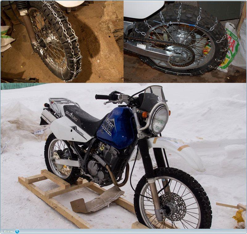 Как сделать цепи на мотоцикл
