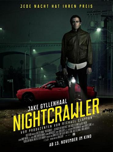 Стрингер / Nightcrawler(Дэн Гилрой / Dan Gilroy) [2014, США, триллер, драма, криминал, BDRip 1080p] VO (А.Матвеев) + Sub Rus, Eng + Original Eng