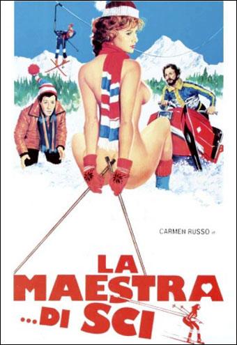Инструкторша по лыжам / La maestra di sci (1981) DVDRip | L1
