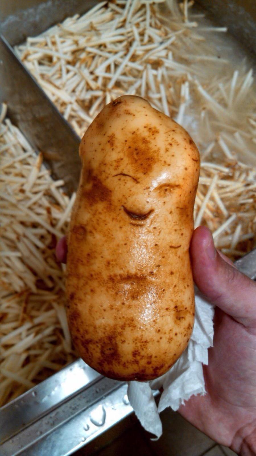 Позитивная картошка