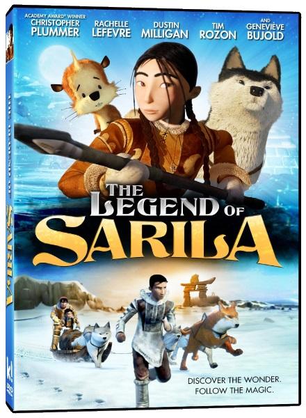 Сарила: Затерянная земля / The Legend of Sarila (Нэнси Севард / Nancy Savard) [2013, мультфильм, приключения,HDRip] Dub + Original (Eng)