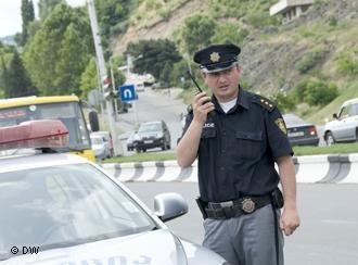Полицейский из Грузии