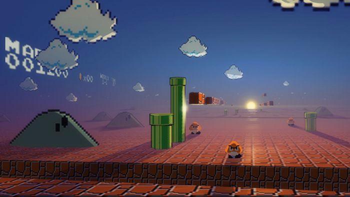 Мир глазами Марио
