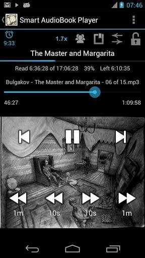 Smart AudioBook Player Pro v3.1.9 Ru - для проигрывания аудиокниг