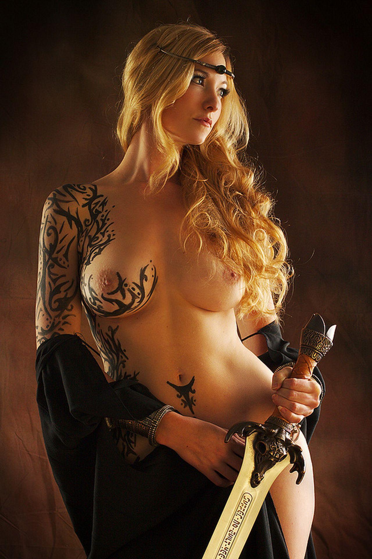 Warrior princess cosplay nude fucked tits