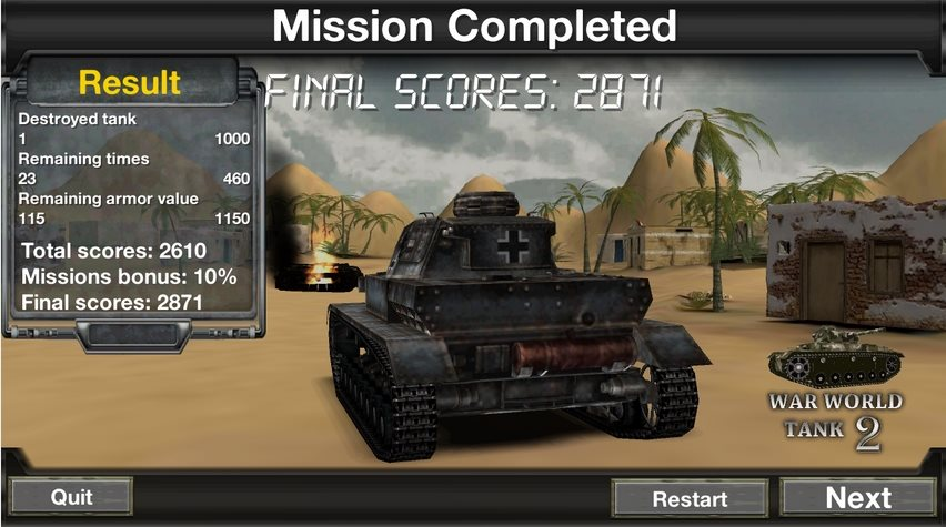 War World Tank 2 1.0.5 [Ru]