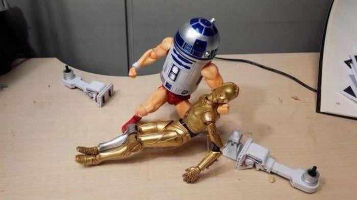 R2D2 супергерой