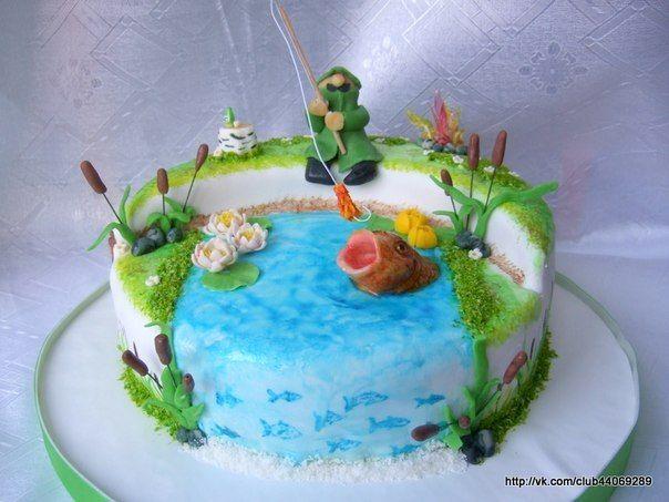 торт рыбак