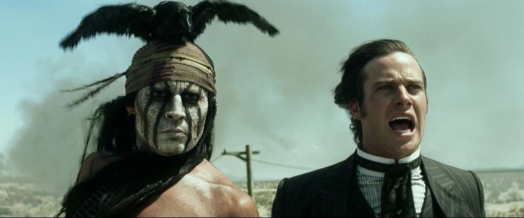 Одинокий рейнджер / The Lone Ranger (2013) BDRip-AVC | Лицензия