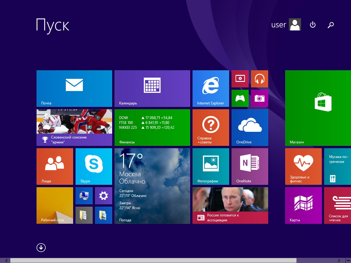Windows 8.1 Pro with update MoverSoft x86/x64 (2015) Русский