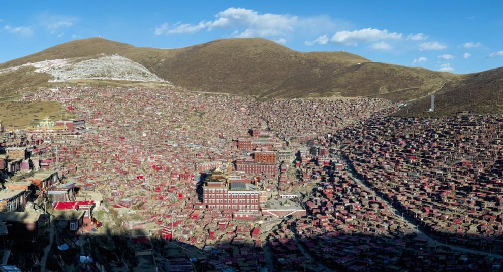 Монастырь Сэда в Тибете - это просто чудо