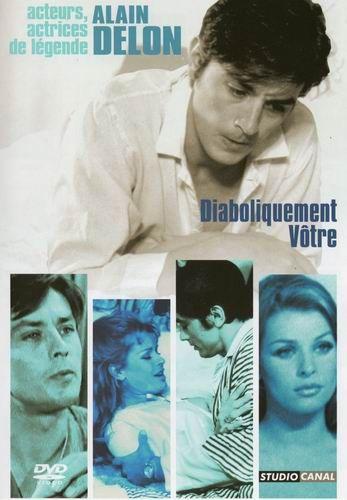 Дьявольски ваш / Diaboliquement v&#244tre / Diaboliquement votre (Жюльен Дювивье / Julien Duvivier) [1967, Франция, Германия, Италия, триллер, DVDRip] DVO + Original Fre