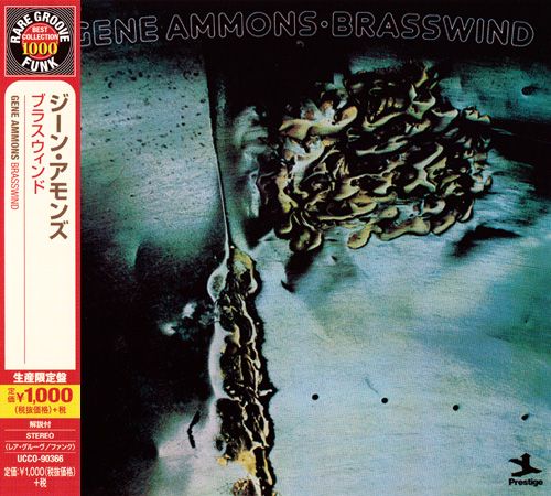 (Soul Jazz, Jazz-Funk) [CD] Gene Ammons - Brasswind (1974) - 2014 {UCCO-90366}, FLAC (tracks+.cue), lossless