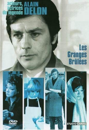 Сгоревшие амбары / Подозрение / Les granges brul&#233es (Жан Шапо / Jean Chapot) [1973, Франция, Италия, драма, детектив, DVDRip] MVO + Original Fre
