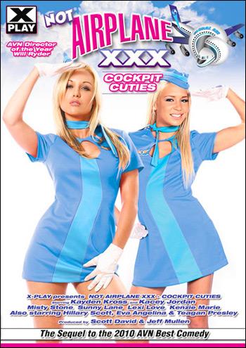 Аэроплан, XXX Пародия: Милашки из кабины / Not Airplane XXX: Cockpit Cuties (2011) DVDRip |