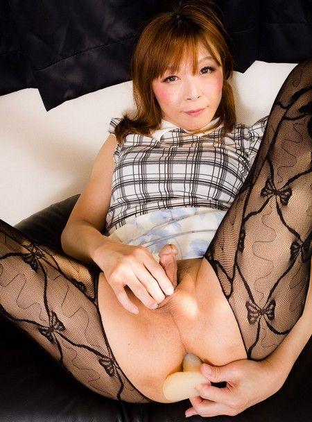 Erina Hashimoto / Pantyhose Dildo