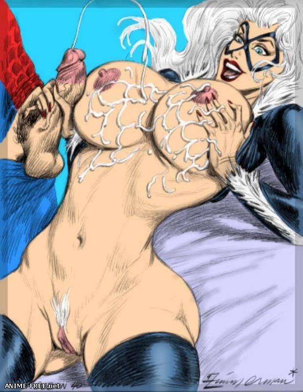 Эротические рисунки художника Юлиуса Циммермана [Uncen] [JPG,GIF] Hentai ART
