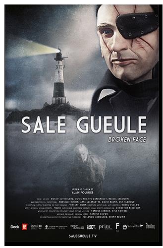 Уродец / Sale gueule / Broken Face (Ален Фурнье / Alain Fournier) [2014, драма, стимпанк, анимация, короткий метр, DVB - DVD] Original (Fra) + Sub (Rus, Eng, Fra, Deu)